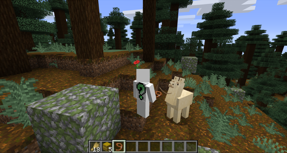 How To Ride a Llama In Minecraft
