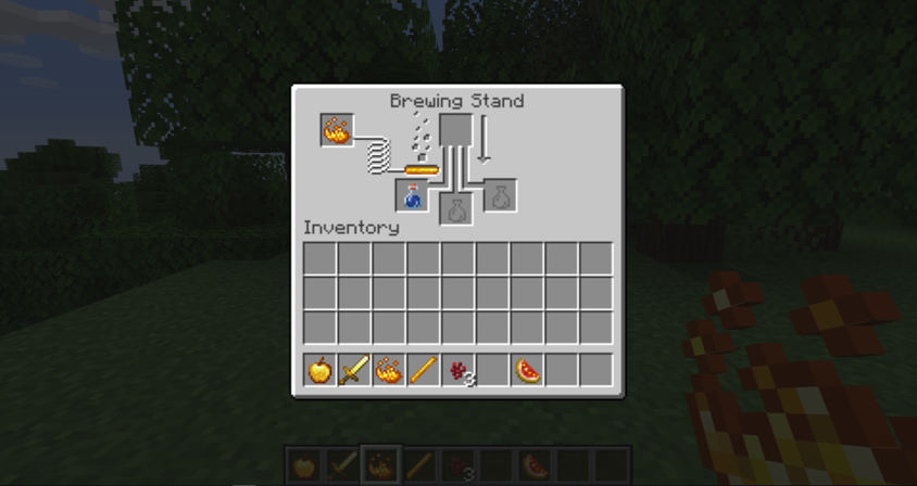 How to Make a Potion In Minecraft step 2