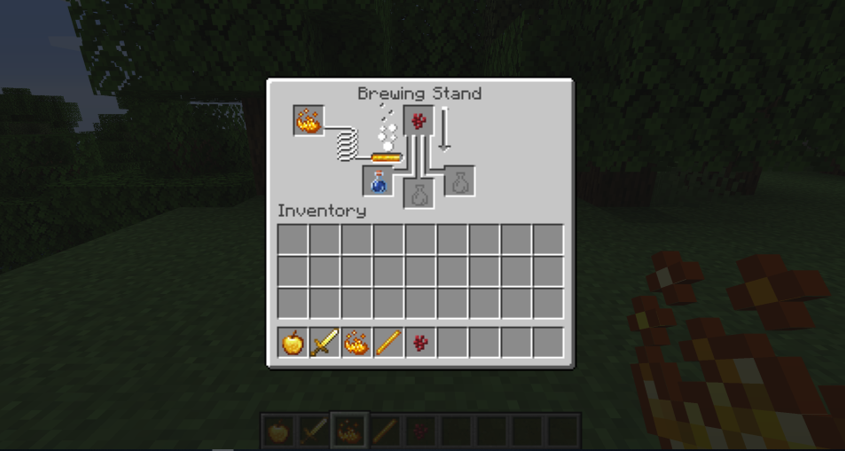 How to Make a Potion In Minecraft step 3