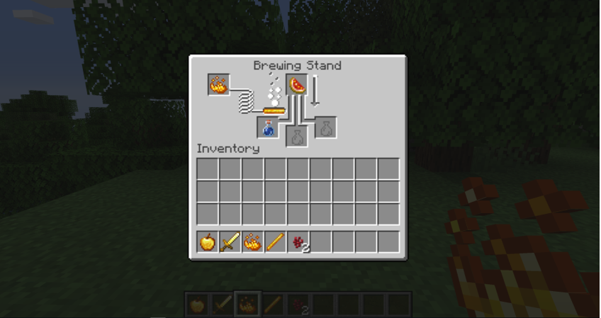 How to Make a Potion In Minecraft step 4