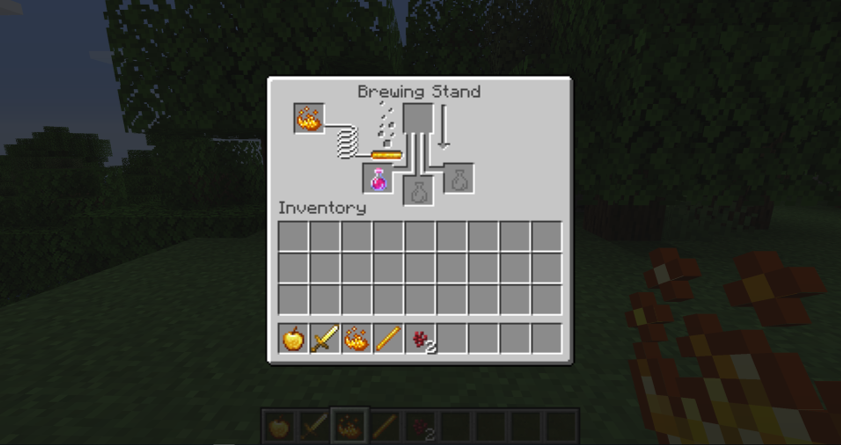 How to Make a Potion In Minecraft step 5