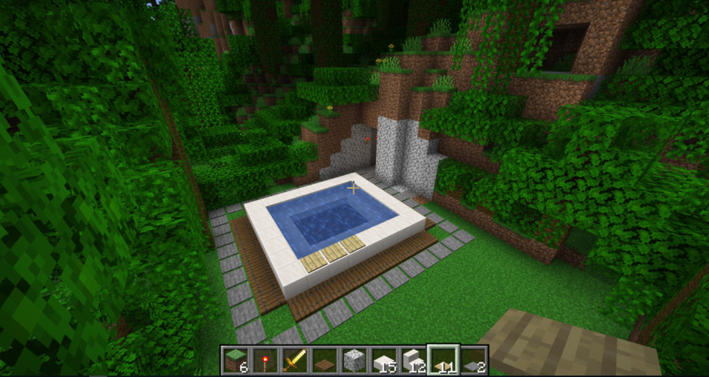 How To Make a Hot Tub In Minecraft