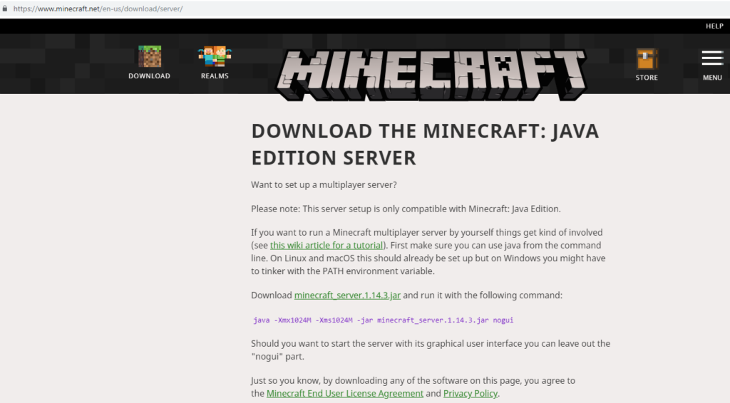 How To Update Minecraft Server